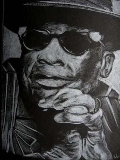 John Lee Hooker by Lampert